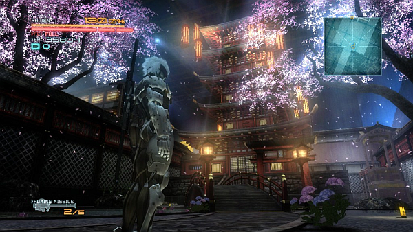 Metal Gear Rising Revengeance Japanese Stage