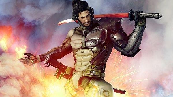 Metal Gear Rising Revengeance Jetstream Sam