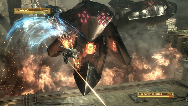 Metal Gear Rising Revengeance RAY Boss