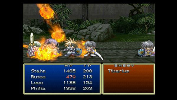 Tales of Destiny Battle