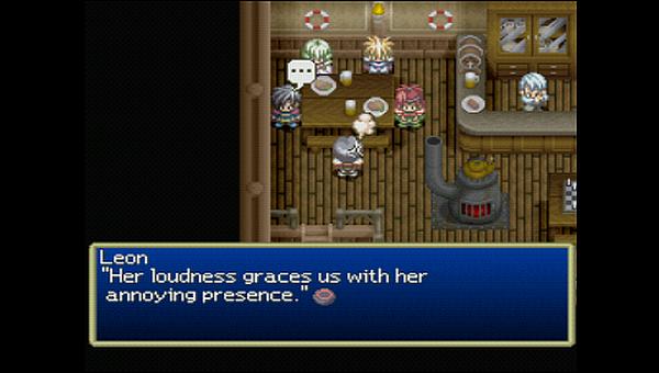 Tales of Destiny Leon Rutee
