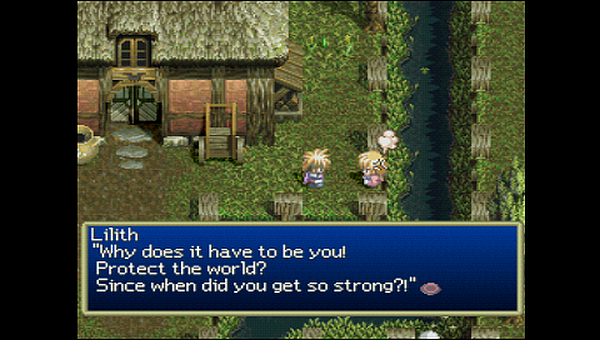 Tales of Destiny Stahn Lilith