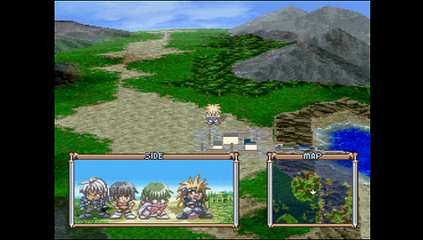 Tales of Destiny World Map