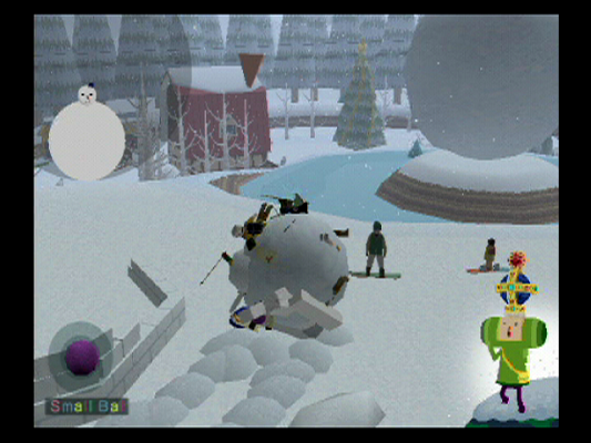 We Love Katamari Snow