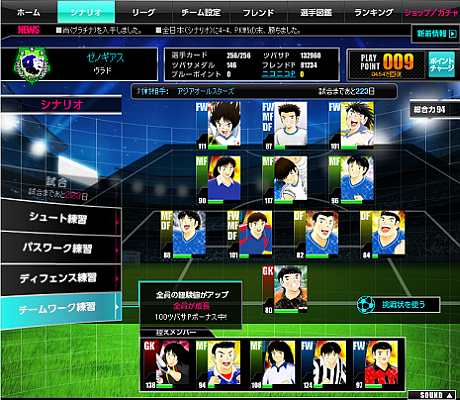 Captain Tsubasa Tsukurou Dream Team Training