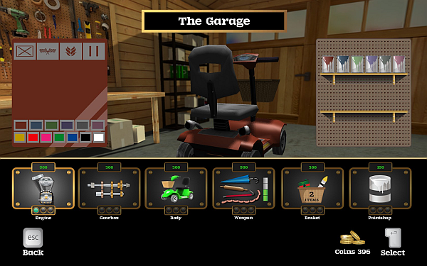 Coffin Dodgers Garage