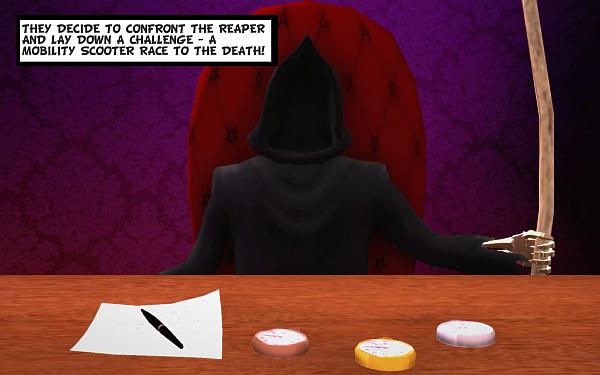 Coffin Dodgers Grim Reaper