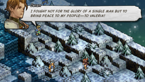 Tactics Ogre Snowfield