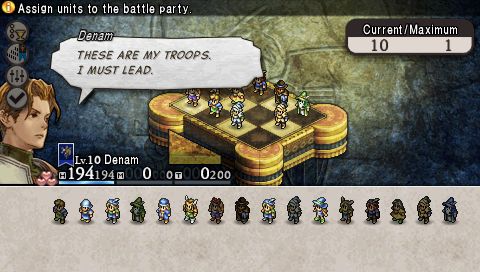Tactics Ogre Team