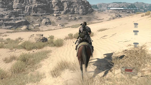 Metal Gear Solid V The Phantom Pain Afghanistan Desert