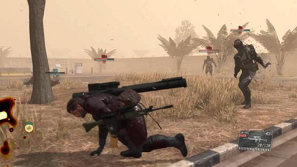 Metal Gear Solid V The Phantom Pain Boss Fight Skulls