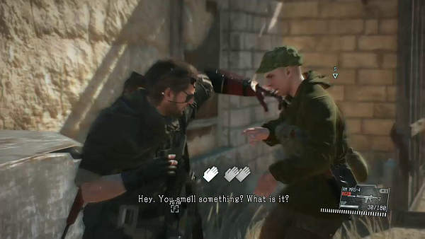 Metal Gear Solid V The Phantom Pain CQC