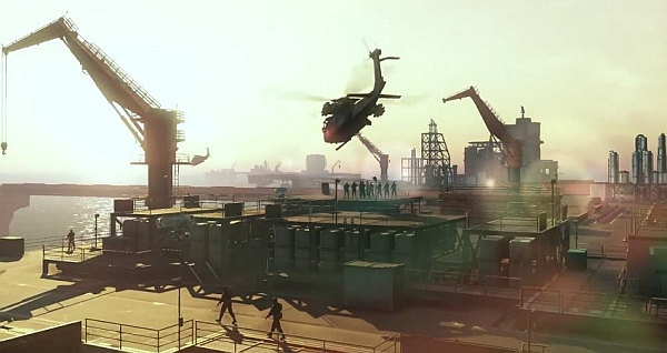 Metal Gear Solid V The Phantom Pain Mother Base Facilities