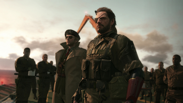 Metal Gear Solid V The Phantom Pain Mother Base Soldiers