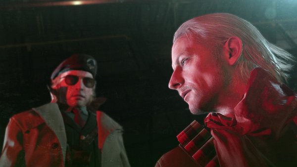 Metal Gear Solid V The Phantom Pain Ocelot Miller