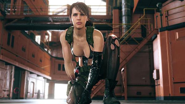 Metal Gear Solid V The Phantom Pain Quiet