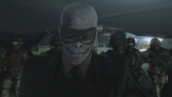 Metal Gear Solid V The Phantom Pain Skull Face