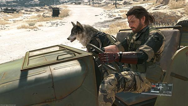 Metal Gear Solid V The Phantom Pain Snake D-Dog