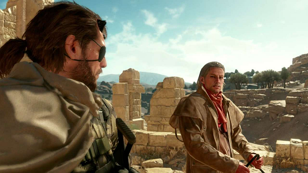 Metal Gear Solid V The Phantom Pain Snake Ocelot