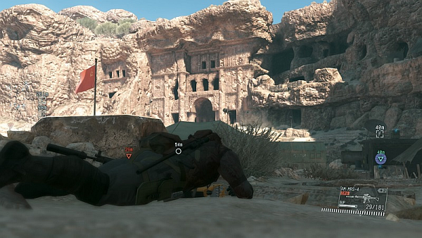 Metal Gear Solid V The Phantom Pain Sneaking