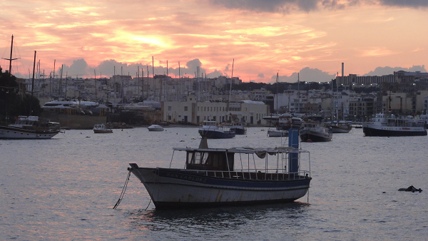 Sliema View Sunset