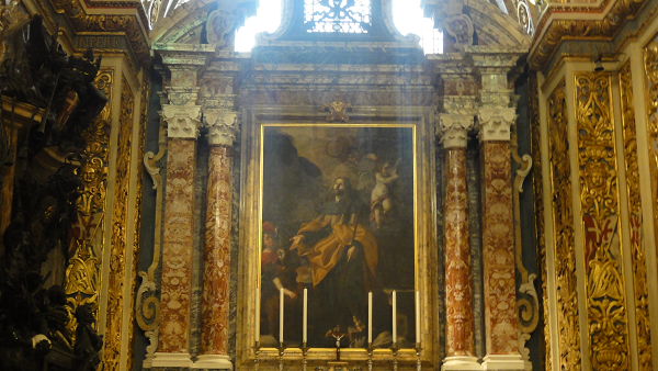 Valletta Co-Cathedral Painting