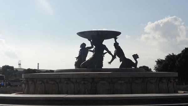 Valletta Triton Statue