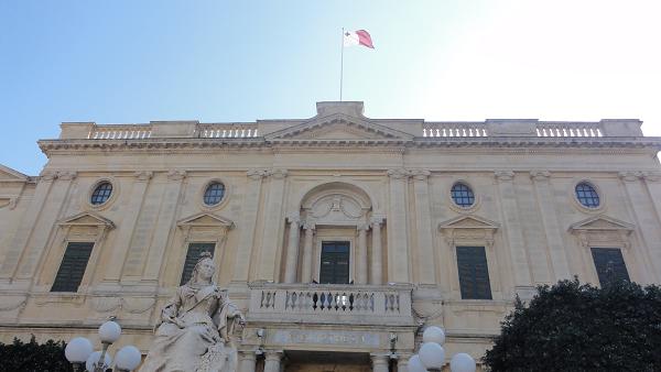 Valletta Victoria Statue