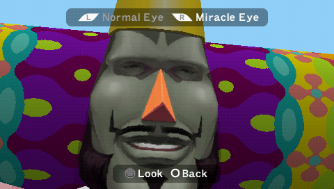 Me & My Katamari King's Face