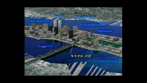 Parasite Eve Map