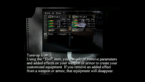 Parasite Eve Modify Weapon