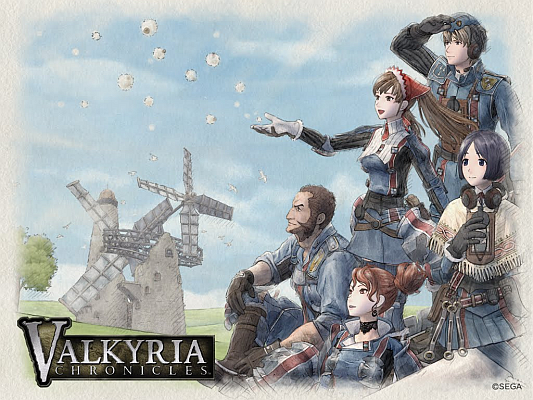 Valkyria Chronicles Characters