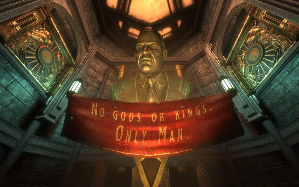 BioShock Andrew Ryan Statue