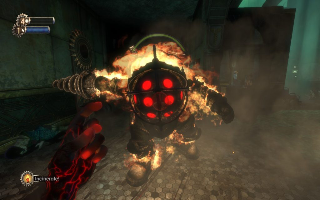 BioShock Big Daddy Fight