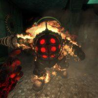 BioShock Big Daddy Fight