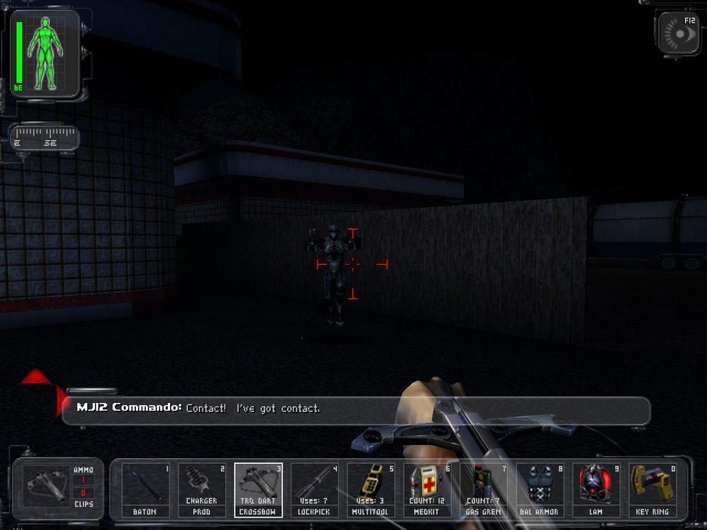 Deus Ex Combat