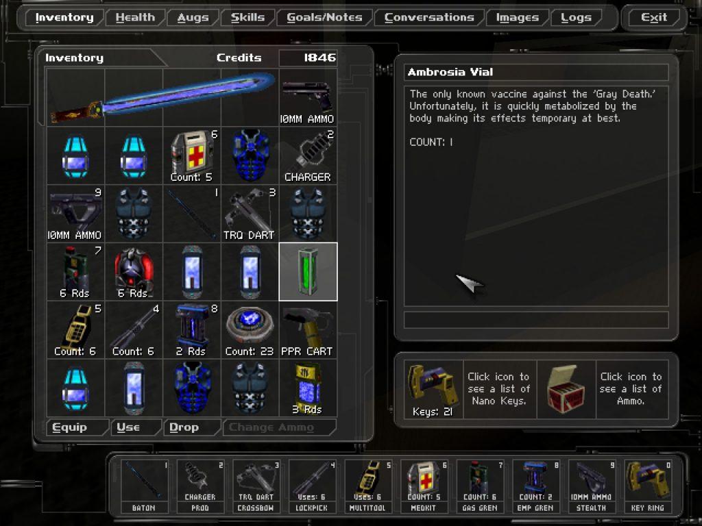 Deus Ex Items