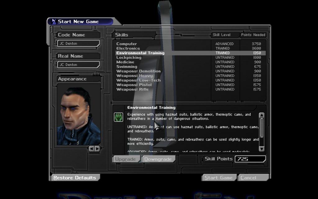 Deus Ex Stats