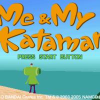 Me & My Katamari Title